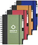 Recycled Cover Spiral Notebooks